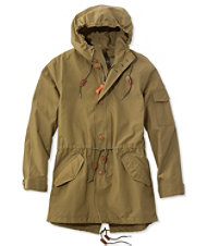 Signature Water-Resistant Fishtail Parka