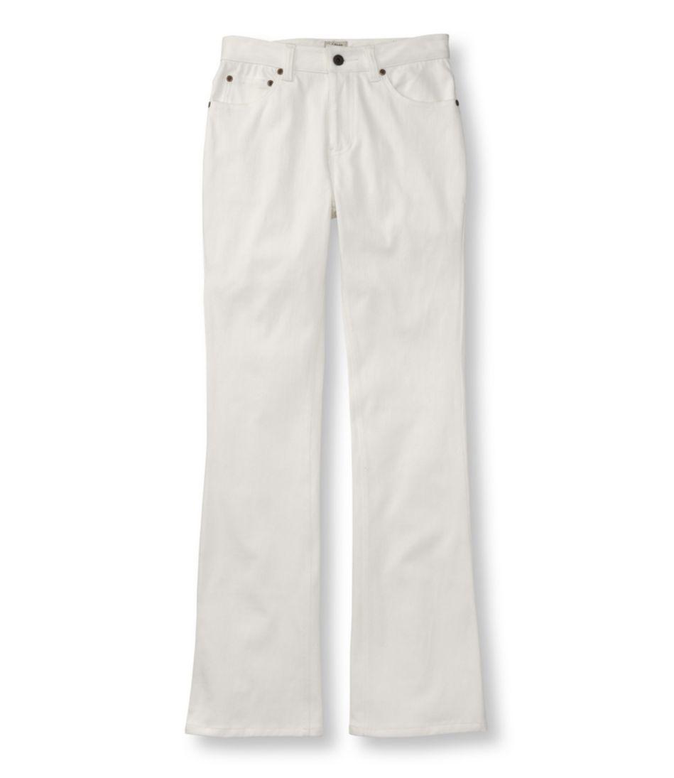 Comfort Knit Jeans, Classic Fit Boot-Cut