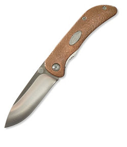 Double L Copper Folding Pocket Knife