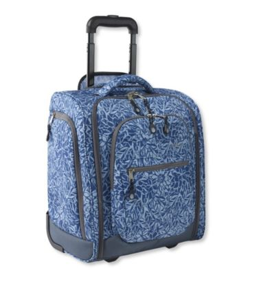 Carryall III Rolling Underseat Bag, Print