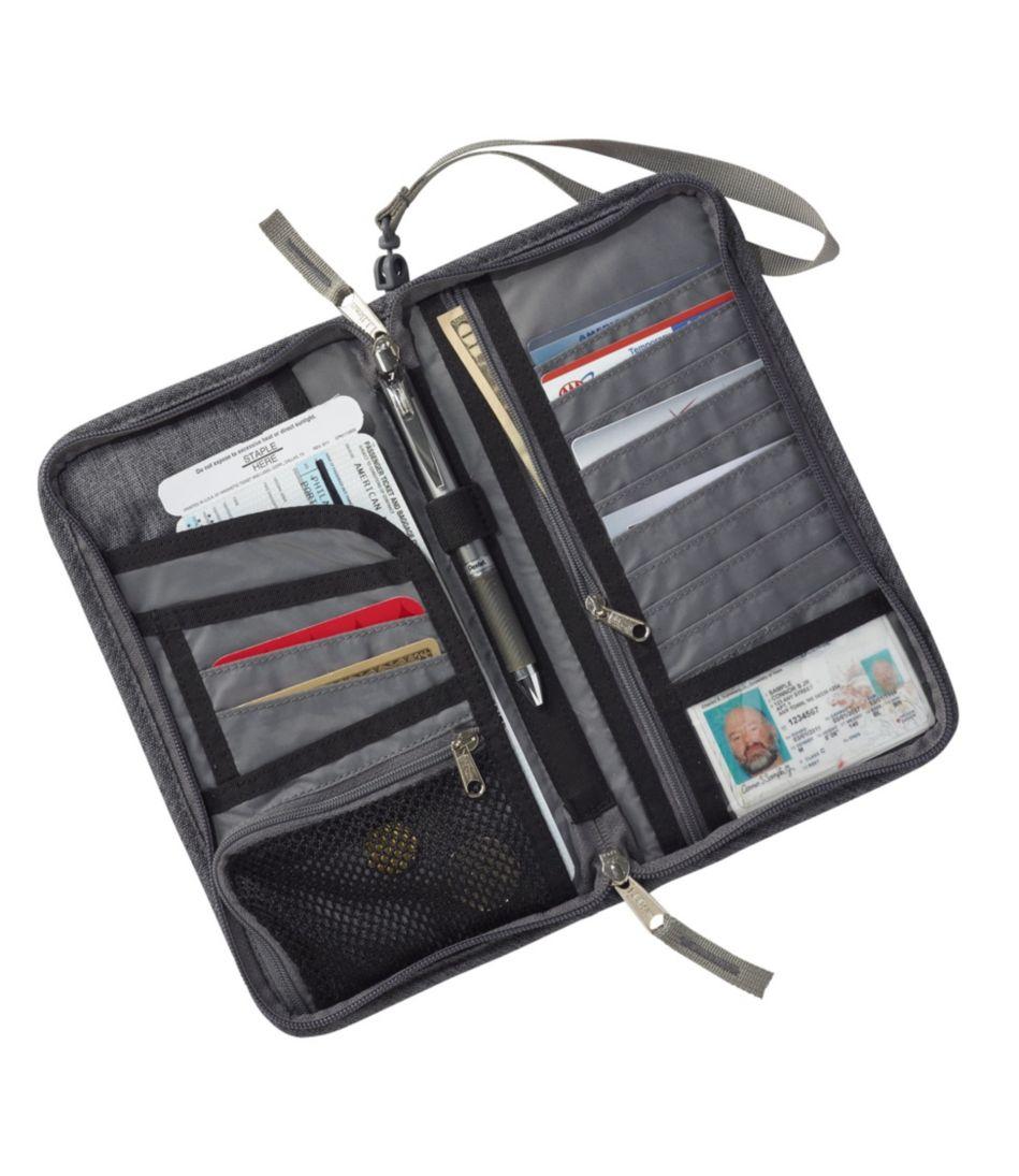RFID-Blocking Travel Ticket Organizer