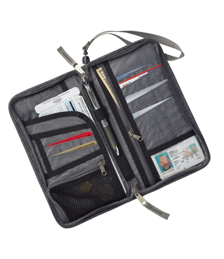 RFID-Blocking Travel Ticket Organizer