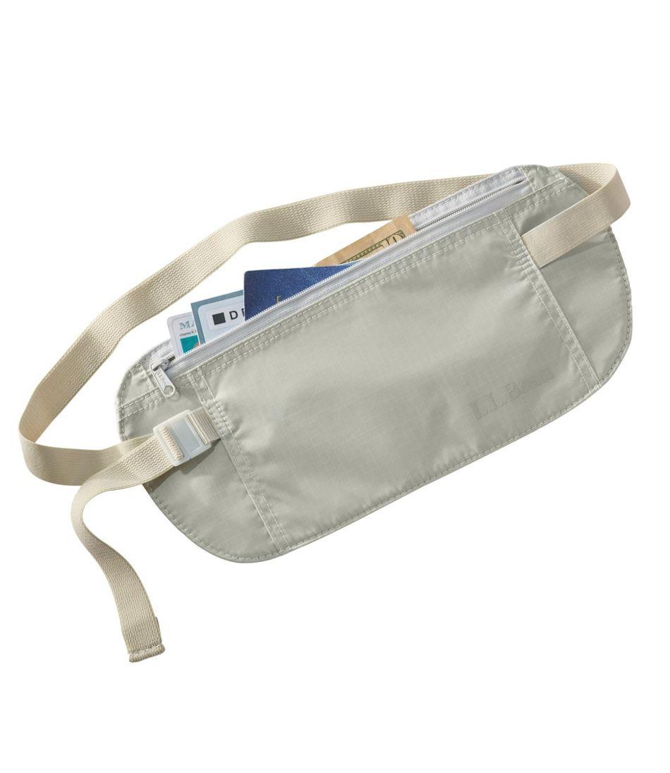 RFID-Blocking Travel Waist Wallet