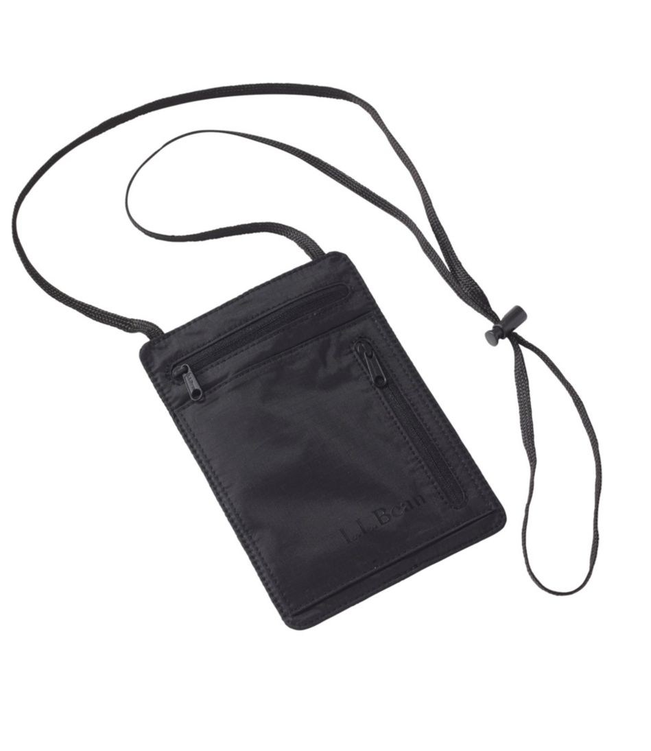 RFID-Blocking Travel Neck Wallet