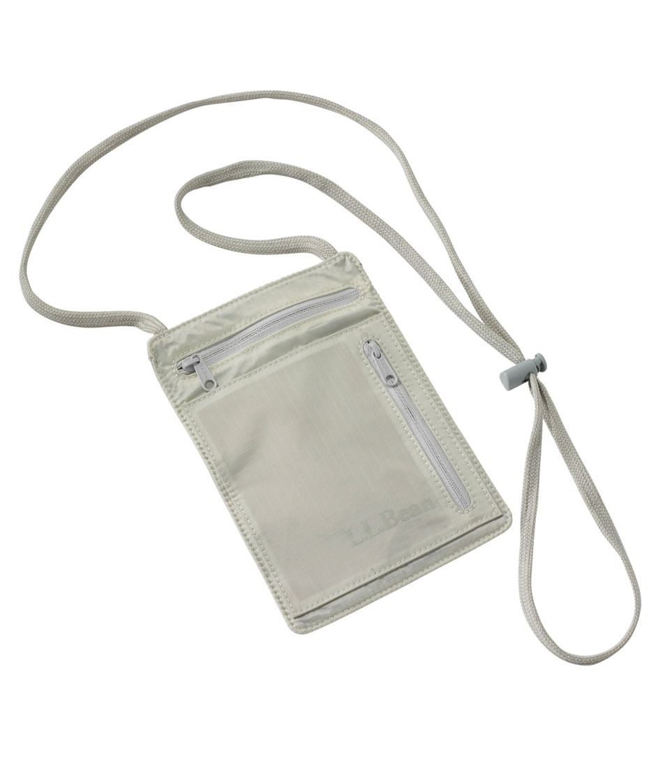 RFID-Blocking Travel Neck Wallet