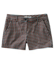 "Signature Washed Twill Shorts, 4"" Print"