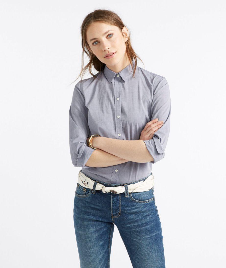 Women's Signature Essential Button-Front Shirt