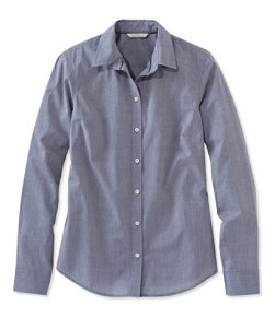 Signature Essential Button-Front Shirt