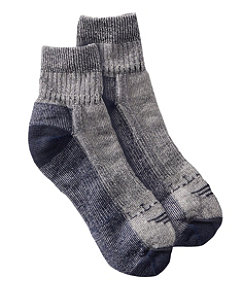 Men's Wool Cresta No Fly Zone Lightweight 1/4 Crew Sock 1 Pack