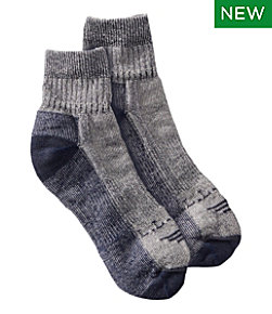 Cresta No Fly Zone Hiking Socks, Lightweight Quarter-Crew