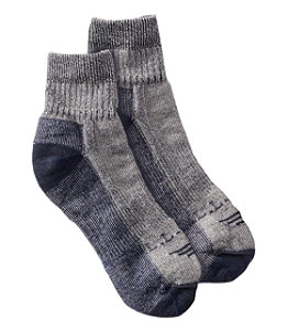 Men's Wool Cresta No Fly Zone Lightweight 1/4 Crew Sock 1 Pack