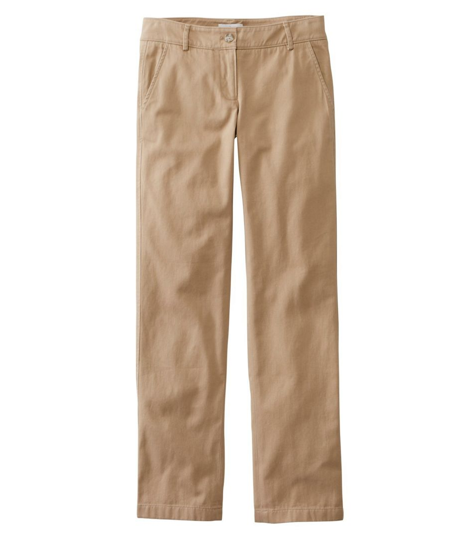 Signature Washed Twill Pants, Slim Straight-Leg