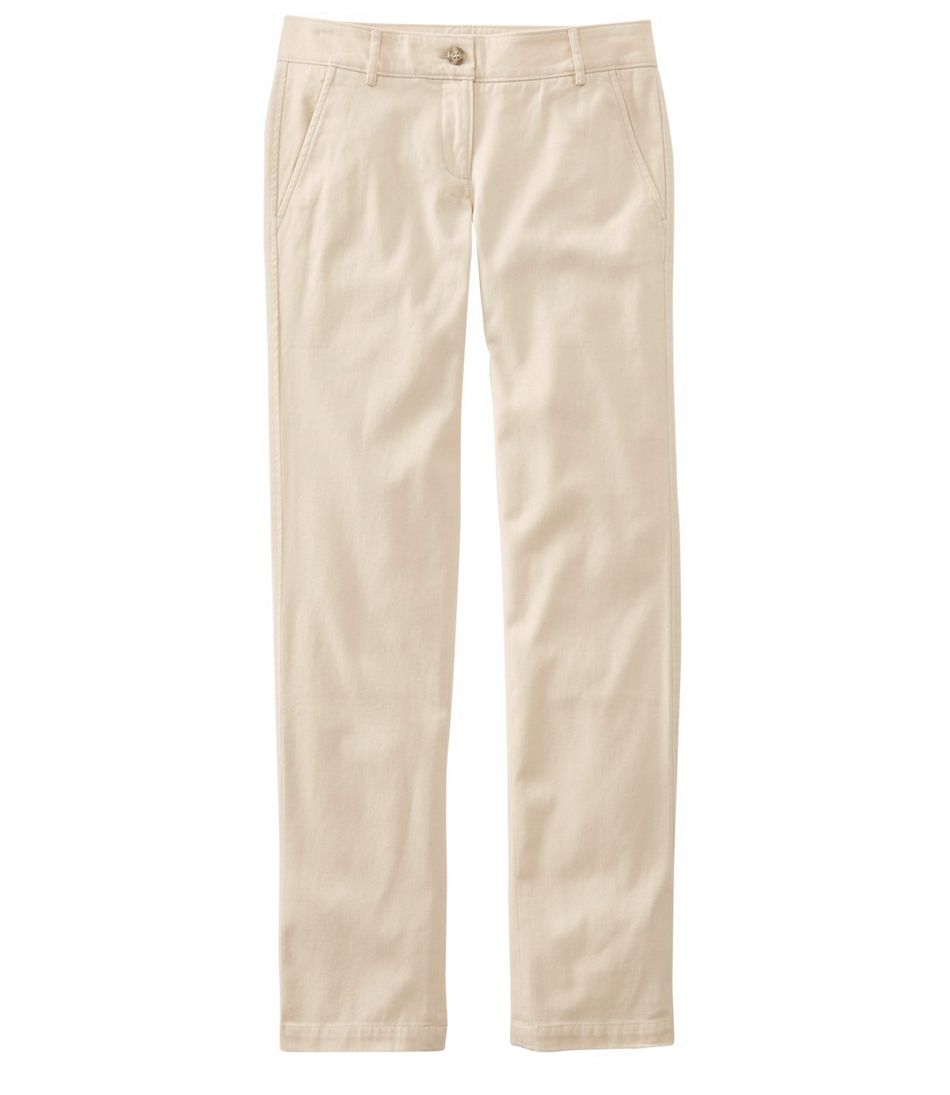 Signature Washed Twill Pants, Slim Straight-Leg