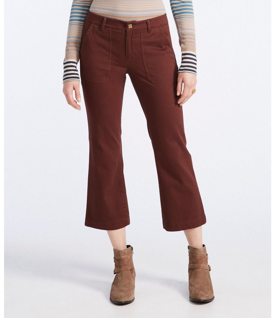 Signature Wide-Leg Cropped Pants