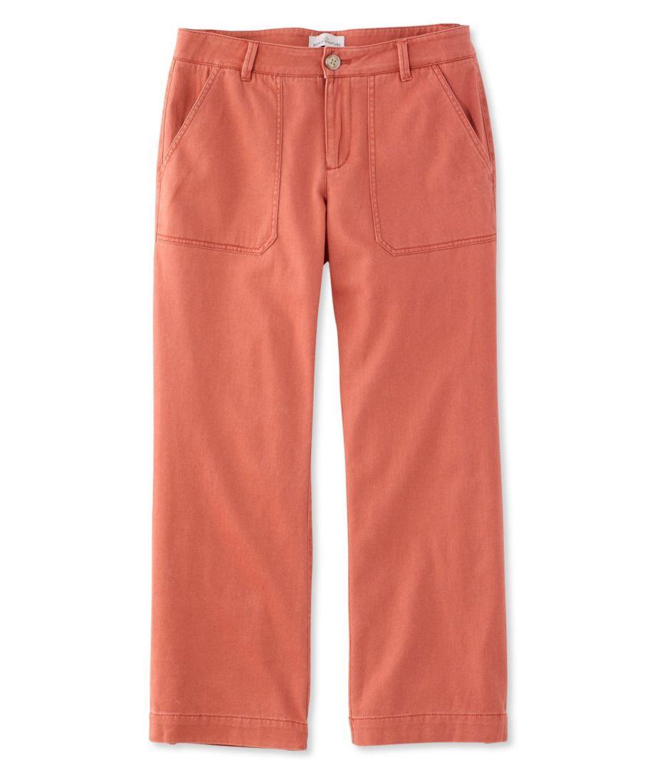 Signature Wide-Leg Cropped Pants