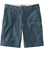 Signature Washed-Canvas Cloth Shorts, Slim Straight 9