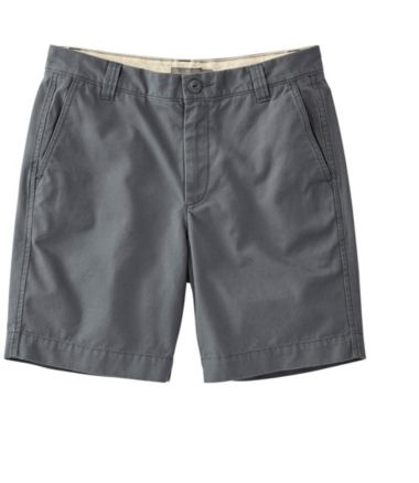 Signature Washed-Canvas Cloth Shorts, Slim Straight 9""