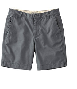 Signature Washed-Canvas Cloth Shorts, Slim Straight 8""