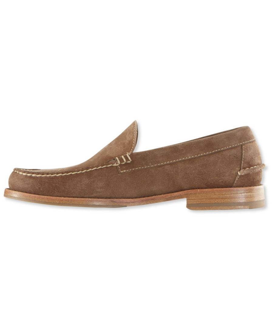Signature Handsewn Venetian Suede Loafers