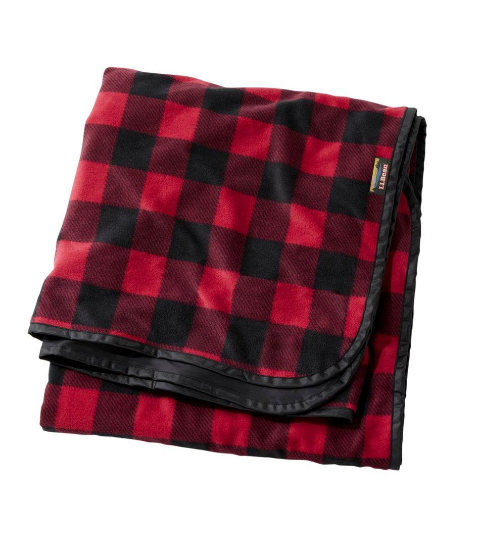 Waterproof Outdoor Blanket, Extra-Large Plaid