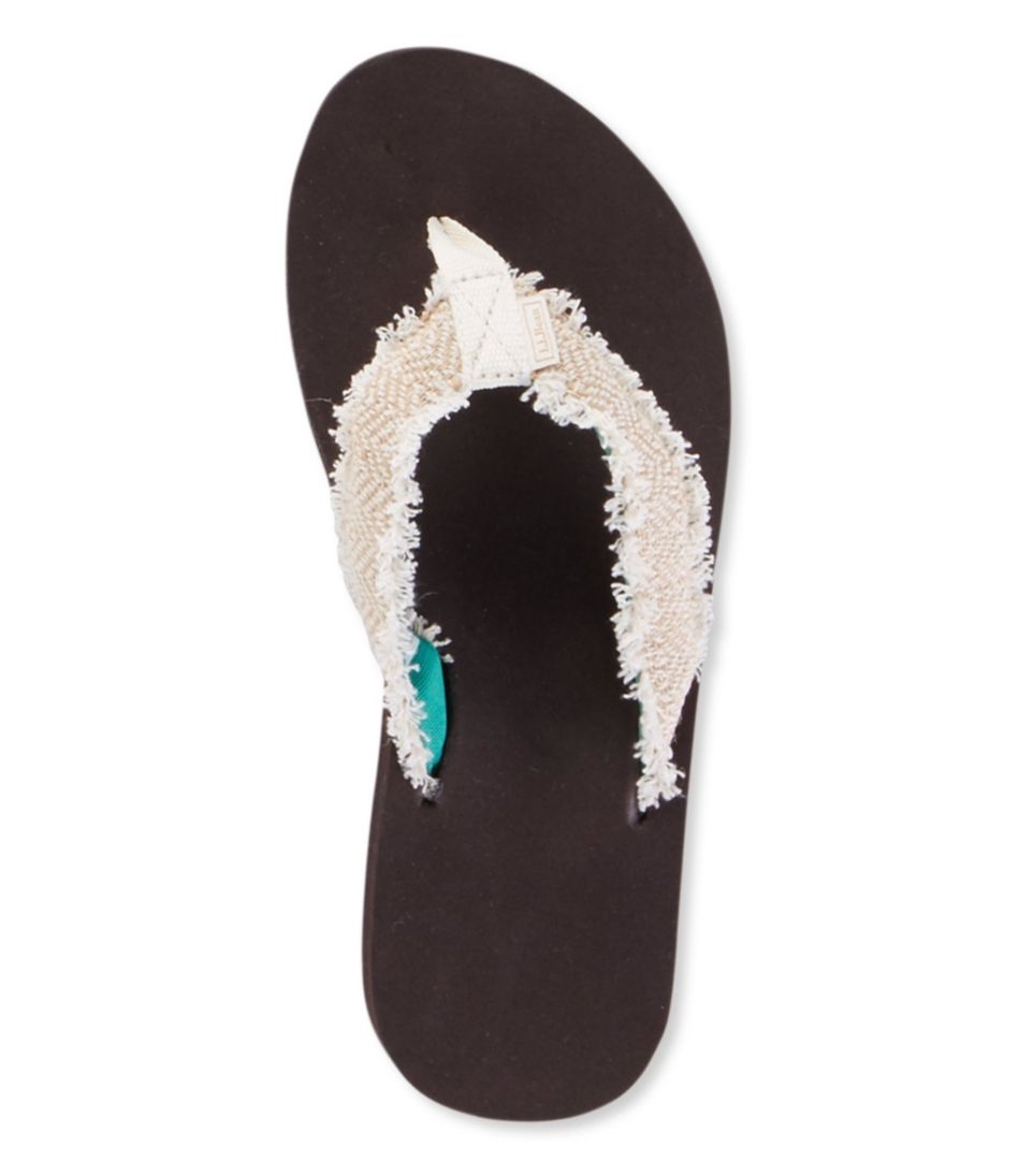 Women's Maine Isle Flip-Flops, Frayed