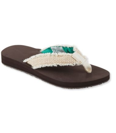 Women's Maine Isle Flip-Flops, Frayed