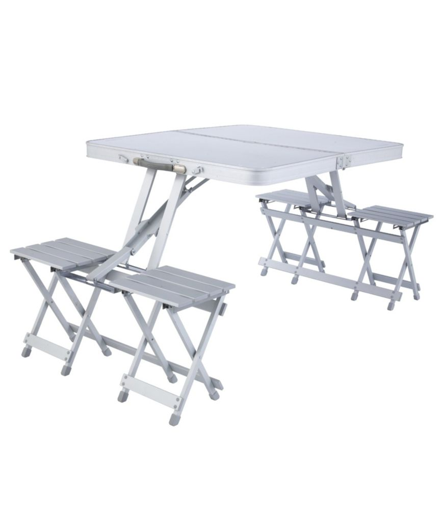 Picture of: L L Bean Quick Pack Folding Picnic Table