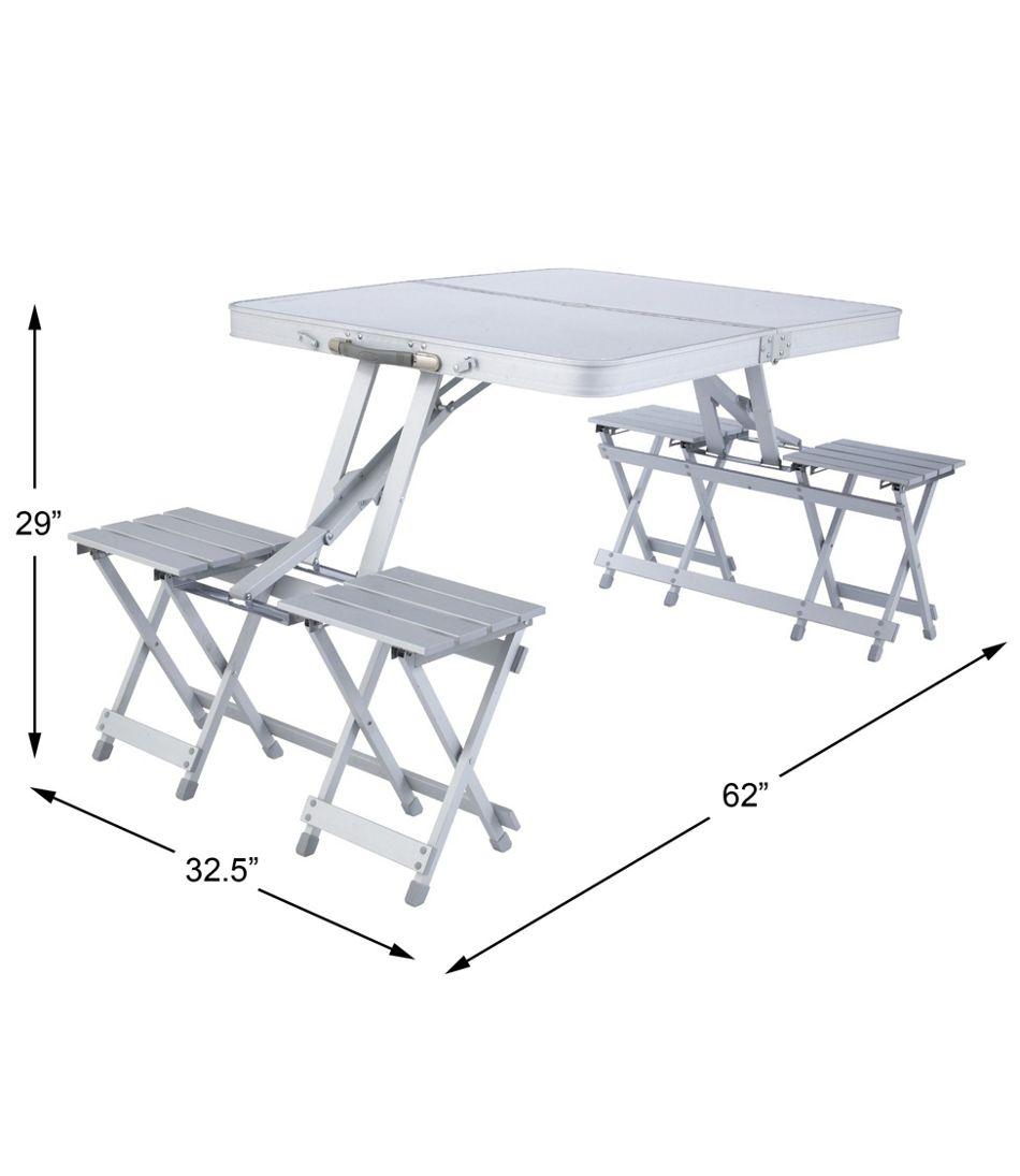 L.L.Bean Quick-Pack Folding Picnic Table