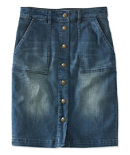 Signature Denim Skirt