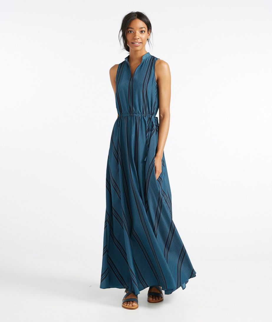 Signature Maxi Dress, Stripe
