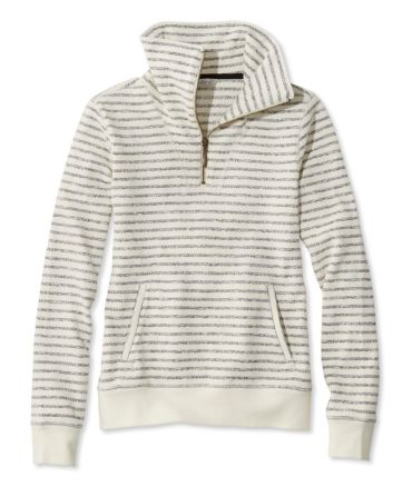 Signature Quarter-Zip Funnelneck Sweatshirt