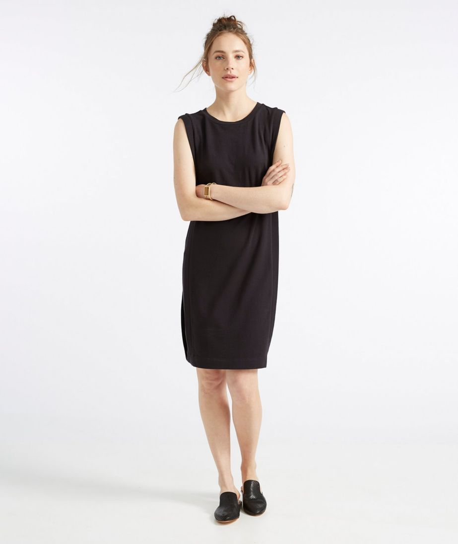 Signature Sleeveless Knit Sheath Dress