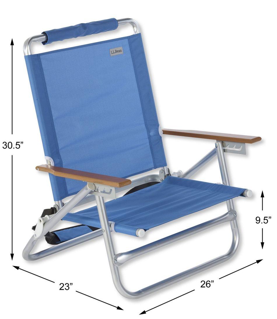 L.L.Bean Folding Beach Chair