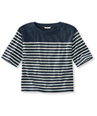 Women's Signature Sailor Stripe Boxy Tee