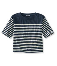 Signature Sailor Stripe Boxy Tee