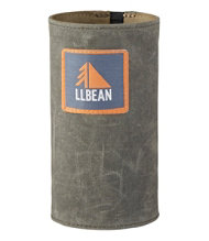 Waxed Canvas Water Bottle Sleeve