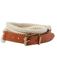 Signature Nautical Rope Belt