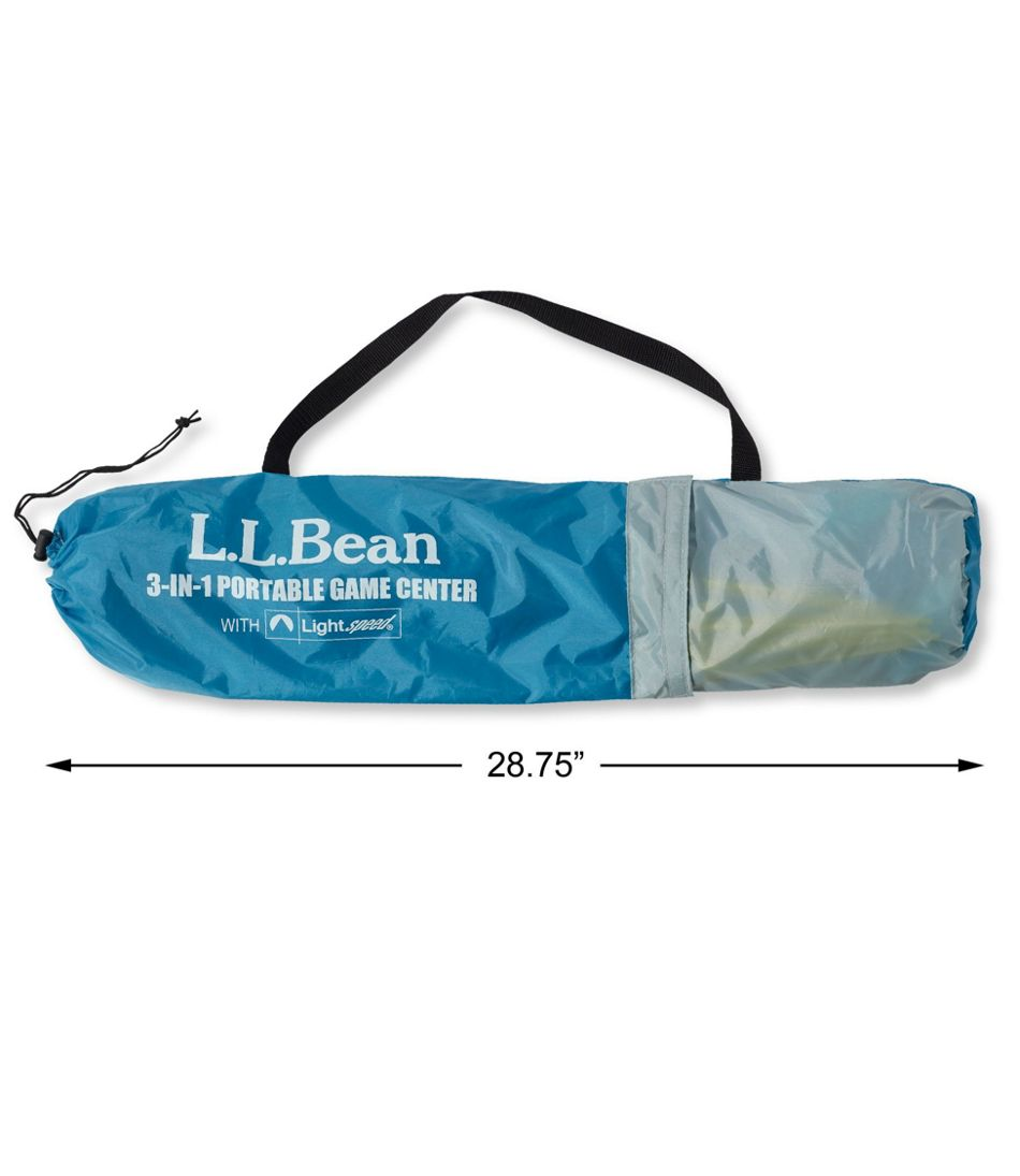 L.L.Bean 3-in-1 Portable Game Center