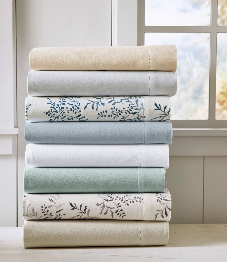 Premium Supima Flannel Sheet Collection, Print