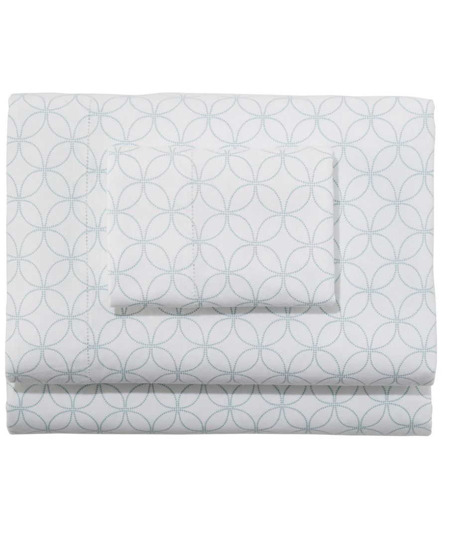 Premium Supima Flannel Sheet Collection, Print