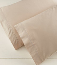 340-Thread-Count Cotton Sateen Pillowcases, Set of Two