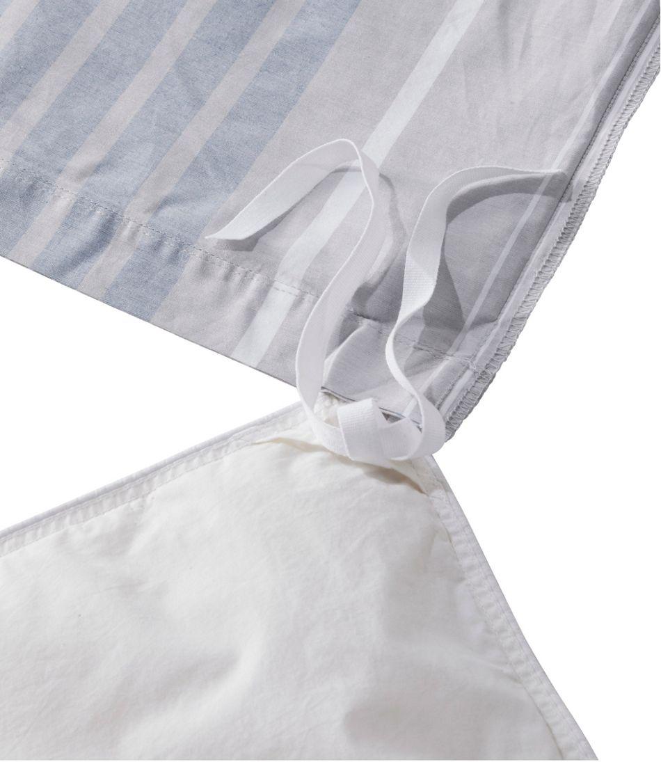 Organic Cotton Comforter Cover Collection, Stripe