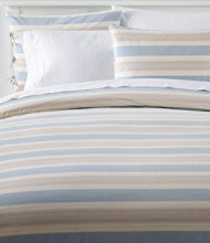 Organic Cotton Comforter Cover Collection, Stripe