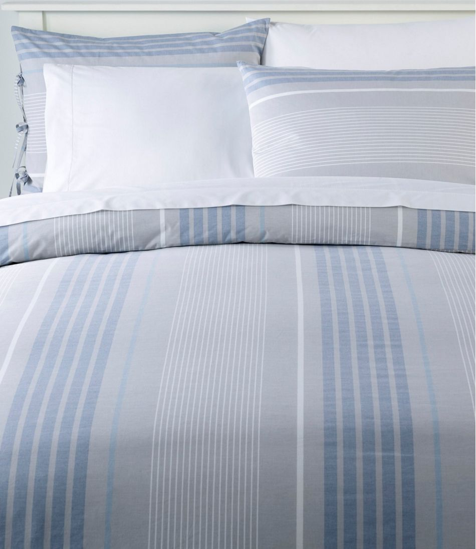 1a2a9453c9 Organic Cotton Comforter Cover Collection, Stripe