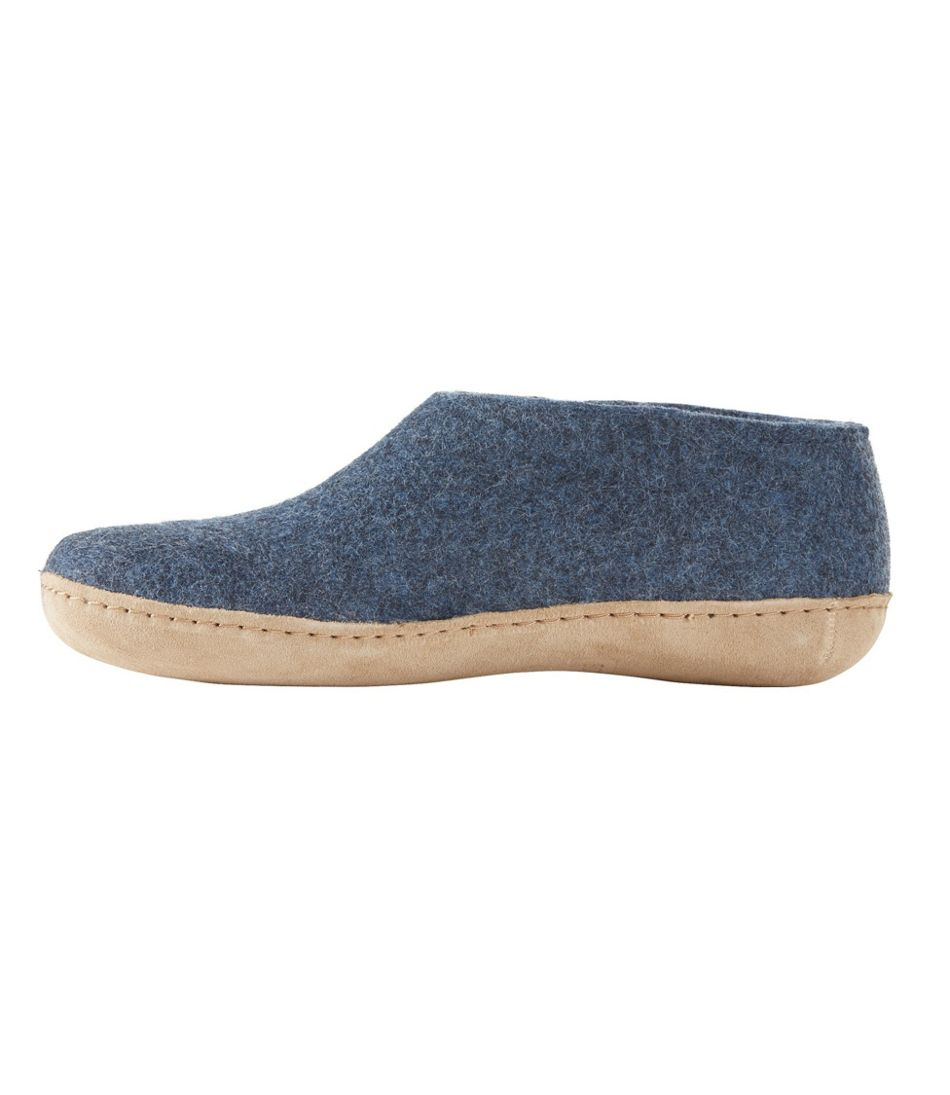 Adults' Glerups Wool Slipper, Shoe