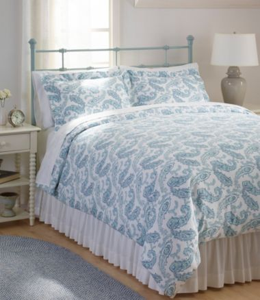 Wrinkle-Free Comforter Cover Collection, Print