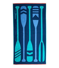 Seaside Beach Towel, Paddles