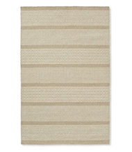 Patterned Wool Flat-Weave Rug