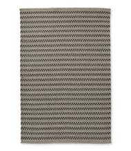 Indoor Outdoor Basketweave Rug Gray Tweed