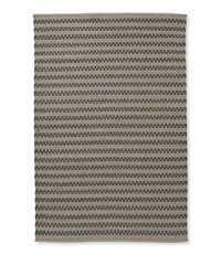 Indoor/Outdoor Basketweave Rug, Gray Tweed